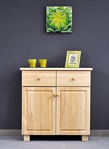 Dresser solid natural pine wood 003 - Dimensions 80 x