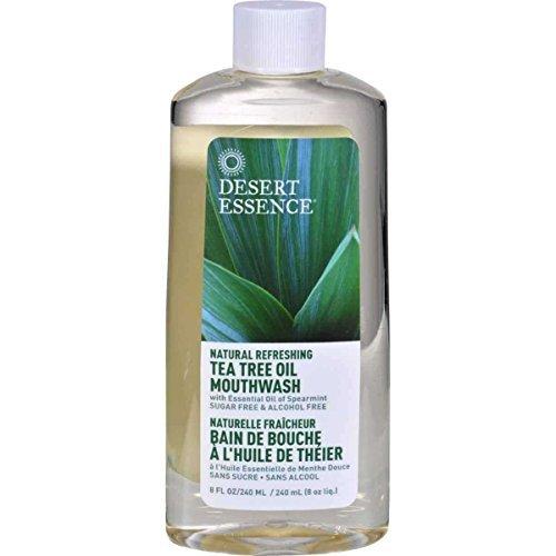 Teebaum Öl Mundwasser (Desert Essence Teebaum Öl Mundwäsche 250 ml)