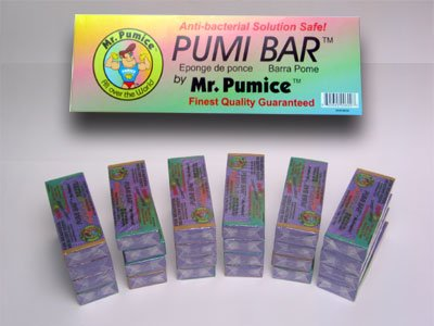 Mr. Pumice Extra Coarse Pumi Bar Purple (24 Pieces Display) by mr pumi