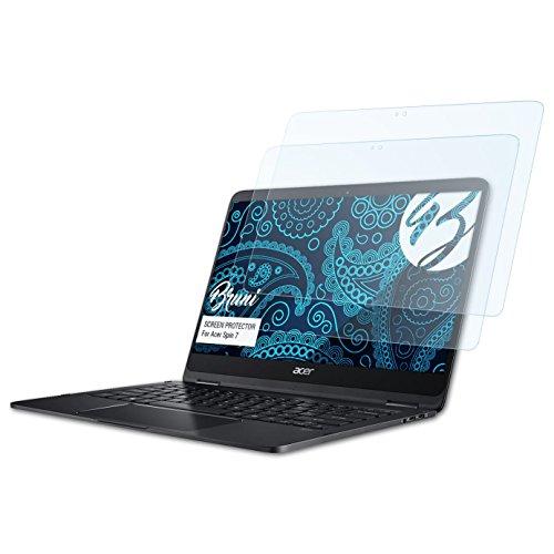Bruni Schutzfolie kompatibel mit Acer Spin 7 Folie, glasklare Bildschirmschutzfolie (2X)