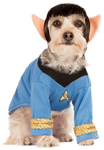 Extra Erwachsene Large Kostüm Für - Rubie's Star Trek Hundekostüm Spock, Extra Large, Mehrfarbig