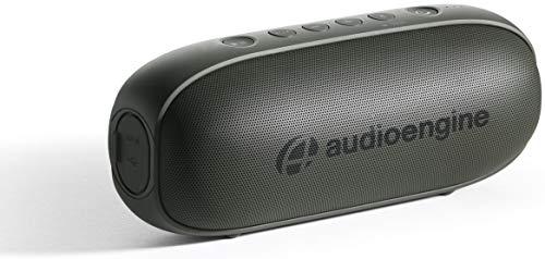 Audioengine 512 Tragbare Bluetooth Lautsprecher   Audiophile Qualitäts-Bluetooth Speaker für zu Hause und unterwegs   Bluetooth Lautsprecher Boxen & 3,5 mm-Eingänge   3 Jahre Garantie