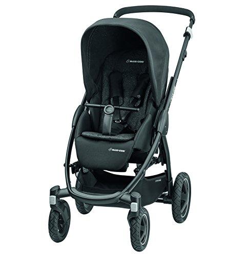 noir Maxi-Cosi 1232710110/Laika/ /L/éger compact et flexible /Compact Poussette combin/ée Id/éal pour les d/éplacements/
