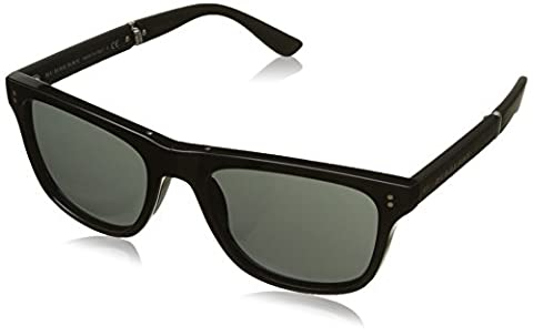 Burberry Herren Sonnenbrille BE4204 Schwarz (Black 30015V), One size (Herstellergröße: 55)