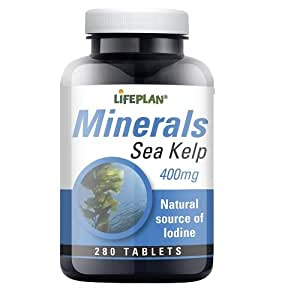 Lifeplan Sea Kelp 400mg 280 Tablets