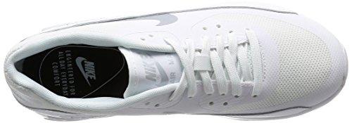 Nike Damen Wmns Air Max 90 Ultra 2.0 Sneakers, Elfenbein (White/Mtlc Platinum/White/Black), 38 EU - 7