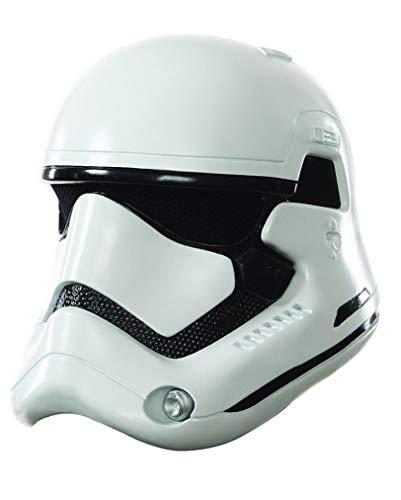 Star Wars VII Maske Stormtrooper für Kinder / 2-teilige Maske aus Kunststoff für Kids (Kunststoff-masken Star Wars)