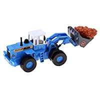 Fenteer 1/50 Kids Party Roleplay Car Truck Model Cement Agitating Lorry/Wheel Loader