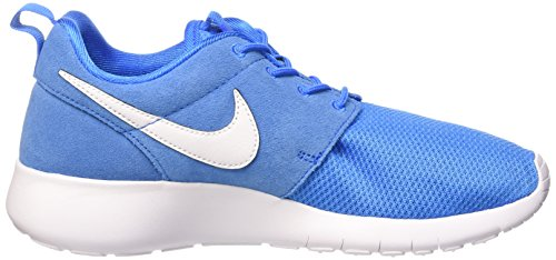 Nike Rosherun, Chaussures de Running Mixte Enfant Photo Bleue/Blanc