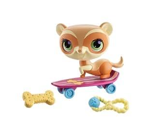 Littlest PetShop - A0037 - Poupée et Mini-Poupée - Furet