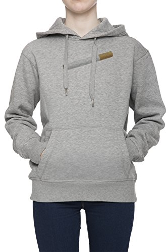 Cigarette Women s Grey Hoodie Jumper Pullover Top Sweatshirt Hoody 5b00e4126f