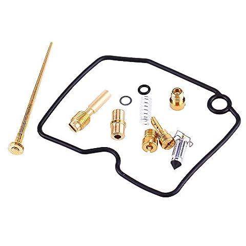 Qiilu Carburateur Reparation Kit Joint Motorcycle ATV Carburetor Repair Carb