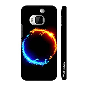 Htc One M9 Plus I am Hot N' I am Cold designer mobile hard shell case by Enthopia