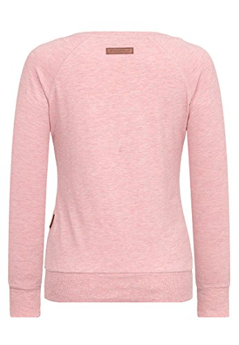 Naketano Female Sweatshirt Krokettenhorst Schmutzmuschi Pink Melange, M - 2