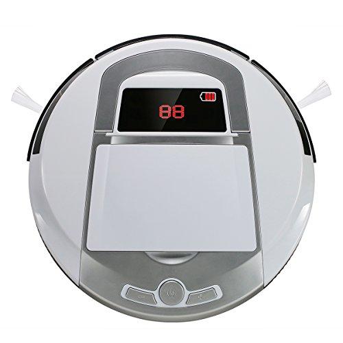 EVERTOP Nettoyeur Intelligent, aspirateur robotique de sol, Robot balayeur de haute puissance...