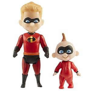 Incredibles 2 Dash con Figura de Gato bebé, 4 Pulgadas
