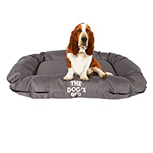 The-Dogs-Bed-Premium-Orthopedic-Waterproof-Memory-Foam-Dog-Beds-5-Sizes7-Colours-Eases-Pet-Arthritis-Hip-Dysplasia-Post-Op-Pain-Quality-Therapeutic-Supportive-Bed-Washable-Covers