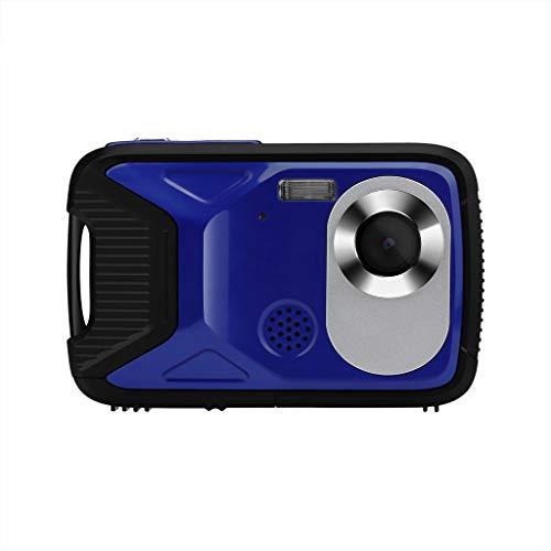 Kamera Camcorder HD-Bildschirm Digitalkamera wasserdichte Digitalkamera Unterwasseraufnahme 21 MP-Videorecorder 1080P Selfie DV-Aufzeichnung digitaler Zoom Video- Digitalkamera (Blue) Video-aufzeichnung Dv-uhr
