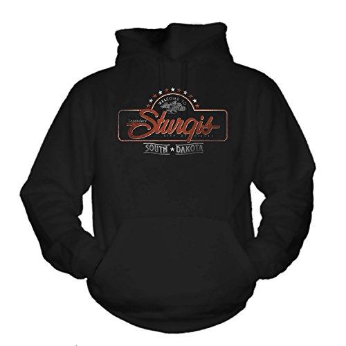 shirtmachine Sturgis - Hoodie (S) -