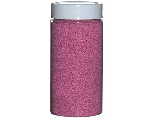 meindekoartikel Dekosand Quarzsand Farbsand Streusand Streudeko Tischdeko ca. 650g Dose (Rosa)