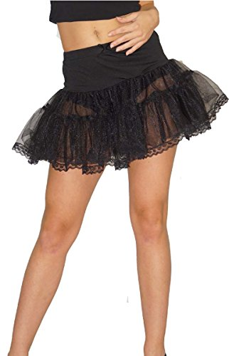 Preisvergleich Produktbild Maylynn 13708 - Petticoat Unterrock Tütü Tüllrock, circa Größe 36-38, schwarz