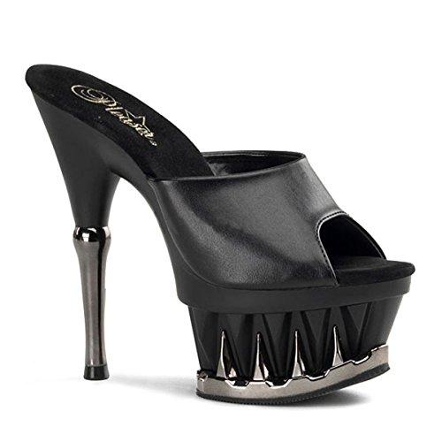 Heels-Perfect , Hi-Top Slippers femme Noir - Noir