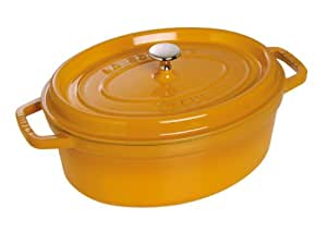 Staub 1102712 Oval Casserole Pot 27 cm Mustard