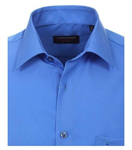 Casa Moda - Comfort Fit - Bügelfreies Herren Business langarm Hemd verschiedene Farben (006050) Blau (112)