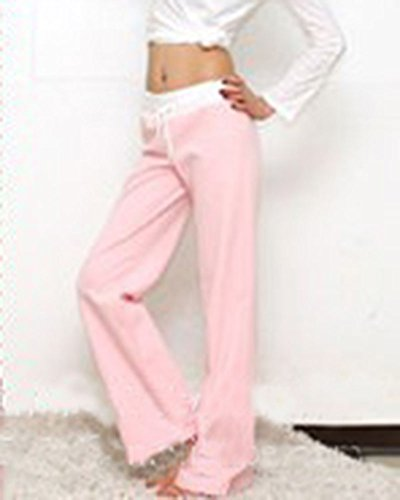 Donna Casual Coulisse Pantaloni Yoga Pilates Jogging Sportivi Larghi Pantalone Pink