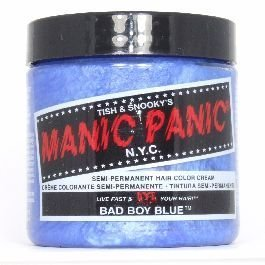 Manic Panic High Voltage Classic Cream Formula Hair Color Bad Boy Blue 118ml