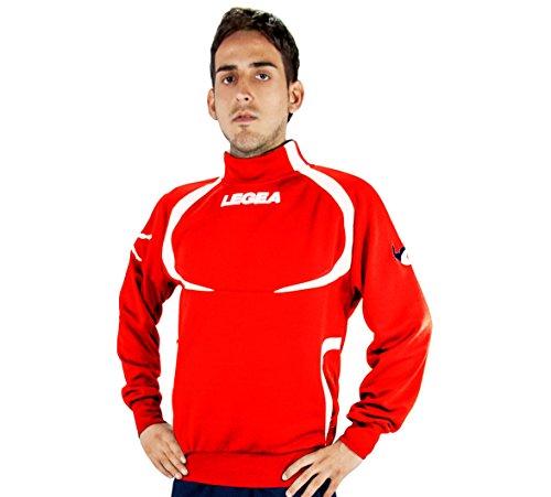Legea Giacca Tokyo Tornado Sweat-shirt de sport Femme Rosso/bianco
