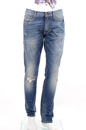 Jeans Uomo Red Soul 38 Denim Mrds414b Autunno Inverno 2014/15