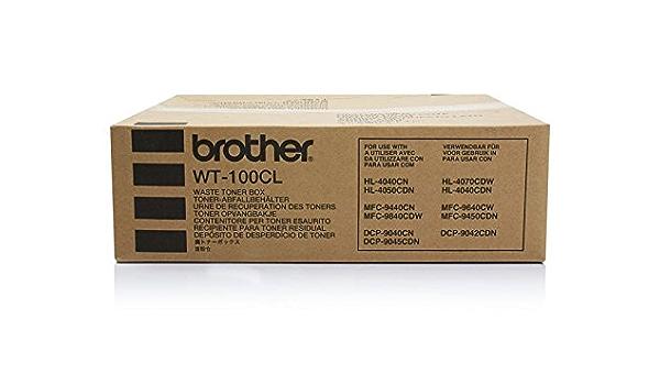 Original Brother Wt 100cl Resttonerbehälter Für Brother Mfc 9450 Cdn Bürobedarf Schreibwaren