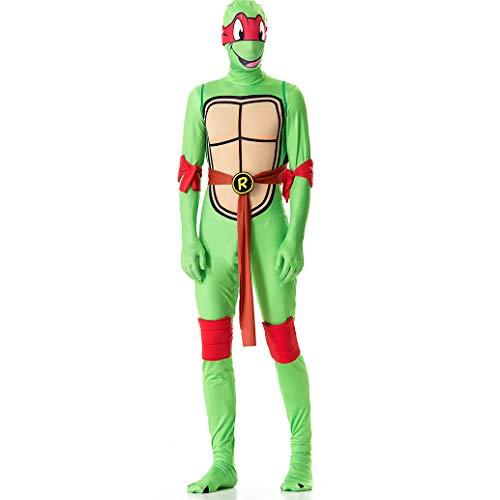 J-COSTUME Halloween-Kostüm Cosplay Ninja Turtles Anime Spiel Masquerade Bar-Party Kleidung Red-XL