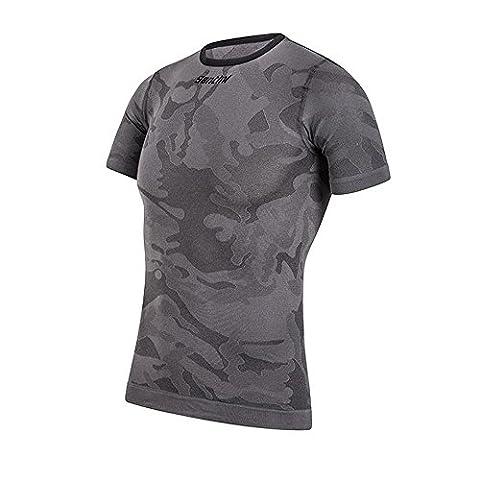 SANTINI Camouflage pour couche de base, mixte, BM001GLLCAMO, gris,
