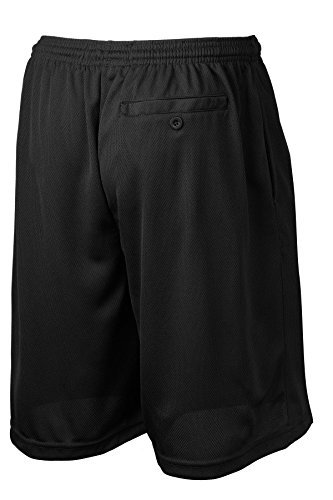 Mens-Moisture-Wicking-Long-Mesh-Shorts-With-Pockets-in-Sizes-XS-4XL