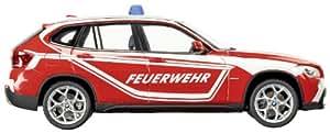 Schuco - SCHU07198 - Véhicule Miniature - Bmw X1 E84 Pompiers - Echelle 1/43