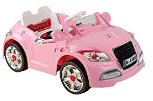 Audi Style Kids Ride On with Rechargeable Battery (Pink)