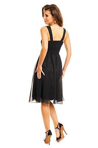 Fashion - Robe - Taille empire - Femme Noir