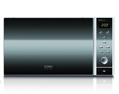 CASO MCG25 chef Design Mikrowelle 3in1 - mit neuer Heißlufttechnik für ein besseres Backergebnis -...