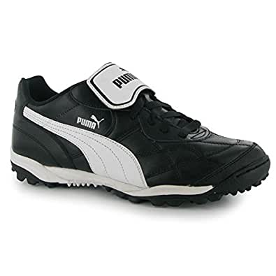 Puma Esito Classic Mens Astro Turf Trainers Black/White 8 UK UK [Apparel]