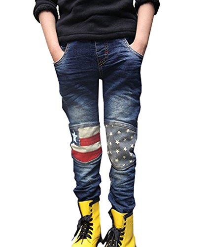 Guandiif Jungen Slim Jeans Hosen Fashion Jeanshose 6 Jahre