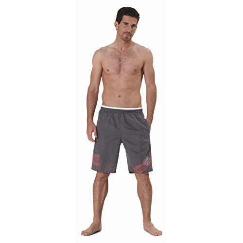 NEW Masita Short de bain Planche de bain Vêtements Formation tous les Short de sport pour homme Bleu/Gris
