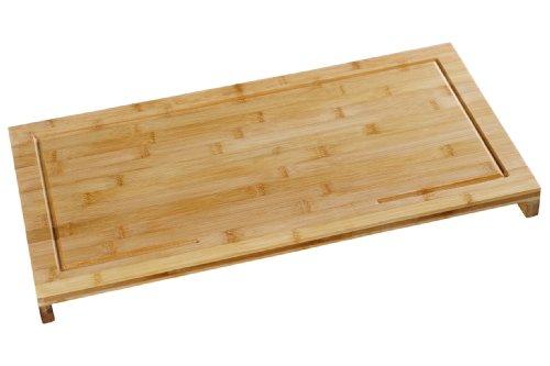 Kesper 54590 Schneide- und Abdeckplatte Bambus 54 x 28 x 4.3 cm