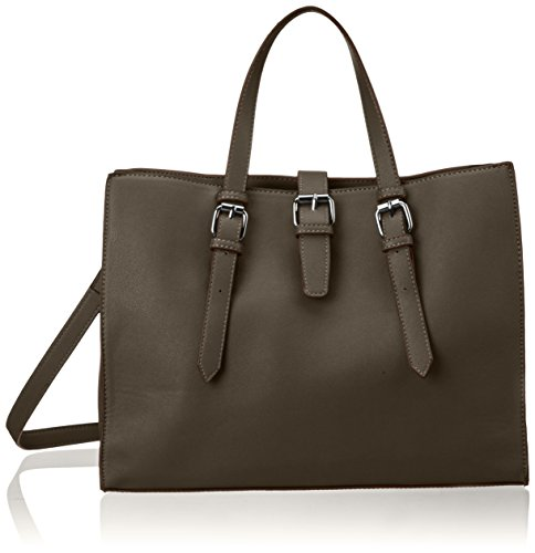 PIECES - Pcjune Shopper, Borsette da polso Donna Verde (Dark Olive)