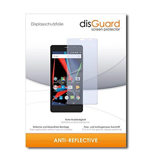 disGuard® Bildschirmschutzfolie [Anti-Reflex] kompatibel mit Archos 55 Diamond Selfie [2 Stück] Entspiegelnd, Matt, Antireflektierend, Extrem Kratzfest, Anti-Fingerabdruck - Panzerglas Folie, Schutzfolie