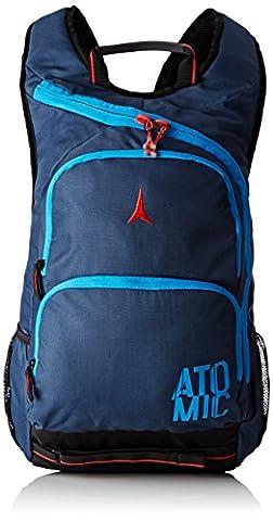 Atomic, Sac à Dos de Ski/École (23L), 33x13x47 cm, Gris/Bleu Électrique, AMT LEISURE + SCHOOL BACKPACK, AL5023510