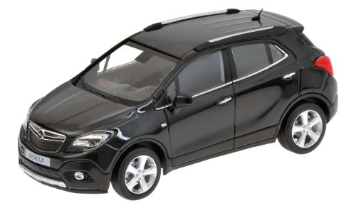 Preisvergleich Produktbild MINICHAMPS 410042101 Opel Mokka 2012 black metalli