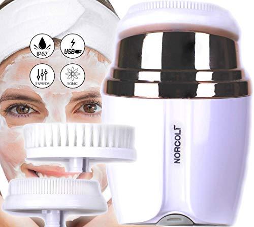 Cepillo Limpiador Facial Vibrante Sónico Portátil