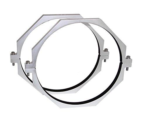TS-Optics CNC Rohrschellen Set für 10 Zoll Teleskope mit 240 mm Durchmesser, TSCR240